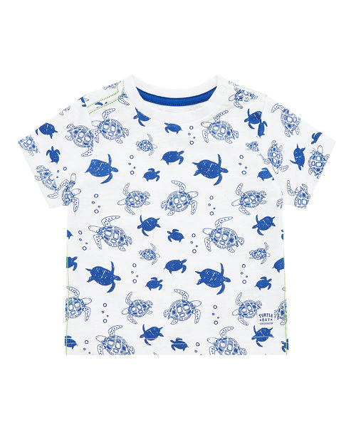 All Over Printed Turtles T-Shirt