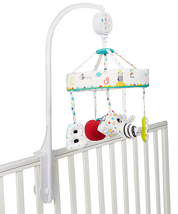 Mothercare Alphabet Brights Musical Mobile