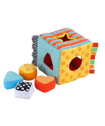Baby Safari Fabric Shape Sorter
