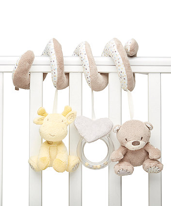 Mothercare Teddy'S Toy Box Cot Spiral
