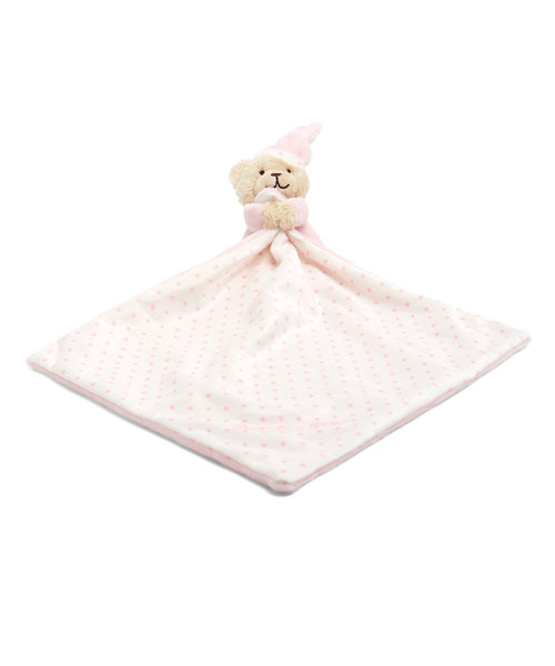 Mothercare Pink Bedtime Bear Blankie