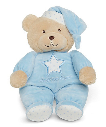 Mothercare Blue Bedtime Bear