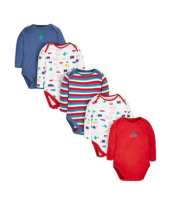Transport Bodysuits - 5 Pack