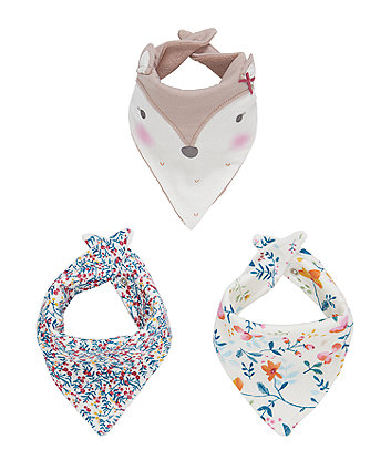 Pretty Forest Bibs - 3 Pack