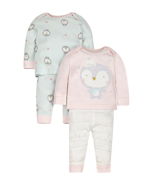 Penguin Pyjamas - 2 Pack