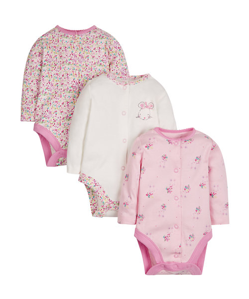 Pretty Mouse Bodysuits - 3 Pack