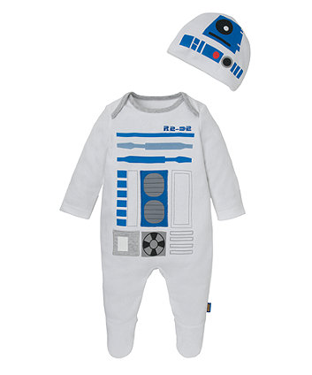 Mothercare Star Wars R2D2 All In One And Hat