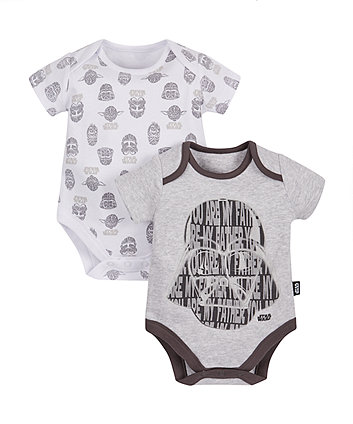 Mothercare Star Wars Bodysuits - 2 Pack