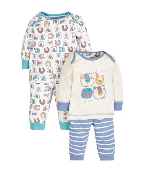 Little Bear Pyjamas - 2 Pack