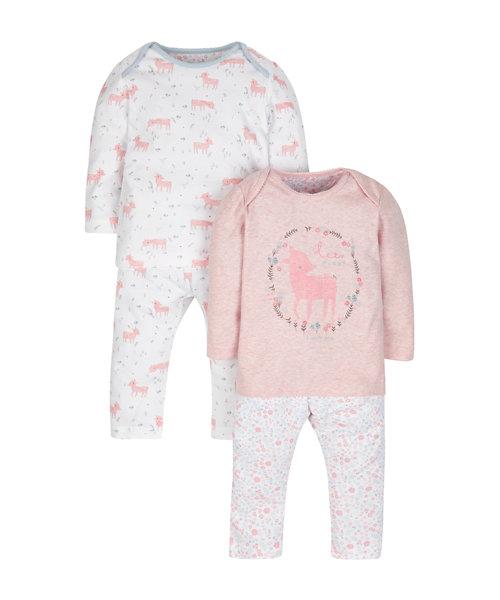 Deer Pyjamas - 2 Pack