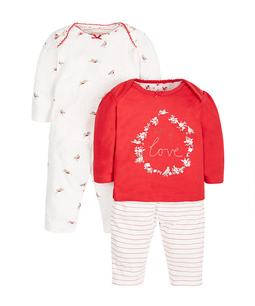 Robin Pyjamas - 2 Pack
