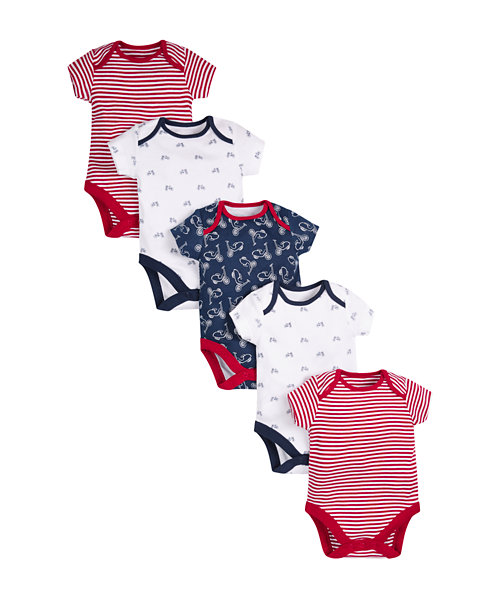 Bicycle Bodysuits - 5 Pack