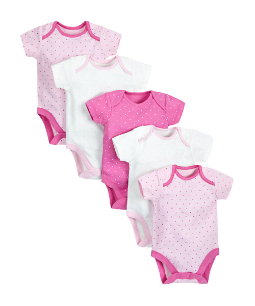 Pretty Mouse Bodysuits - 5 Pack