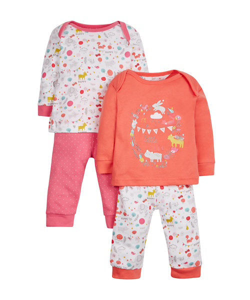Woodland Pyjamas - 2 Pack