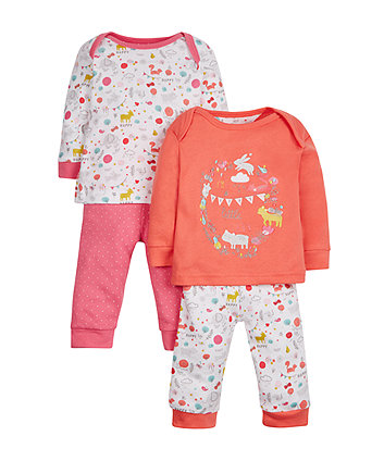 Woodland Pyjamas - 2 Pack