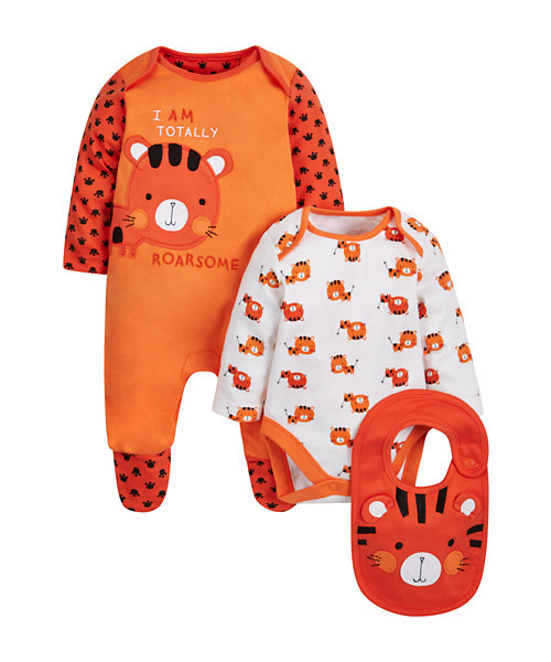 Novelty Tiger Set - 3 Piece