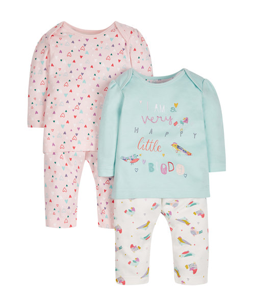 Birdy Pyjamas - 2 Pack