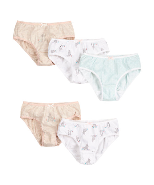 Bunny Briefs - 5 Pack