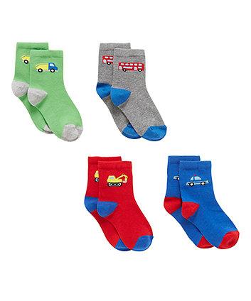 Transport Socks - 4 Pack