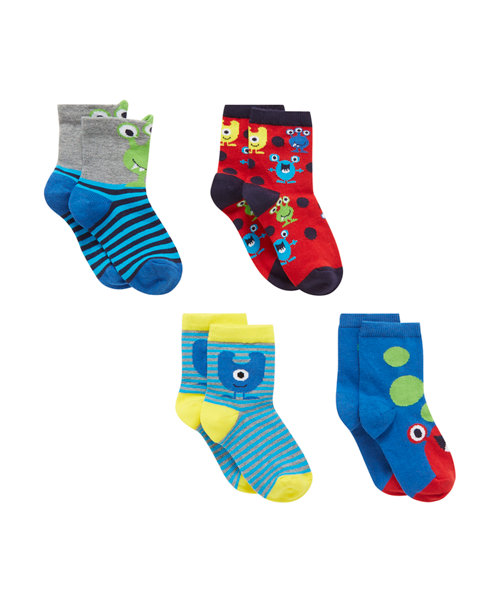 Monster Socks - 4 Pack