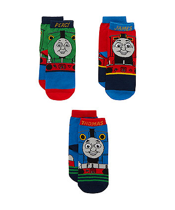 Thomas and Friends Socks - 3 Pack