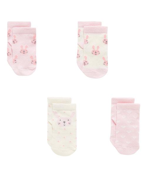 Bunny Socks - 4 Pack