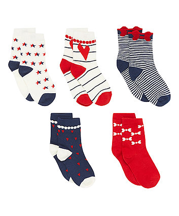 Bright Socks - 5 Pack