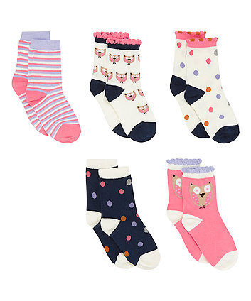 Assorted Socks - 5 Pack