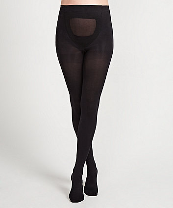 Black 60 Denier Maternity Tights - 2 Pack