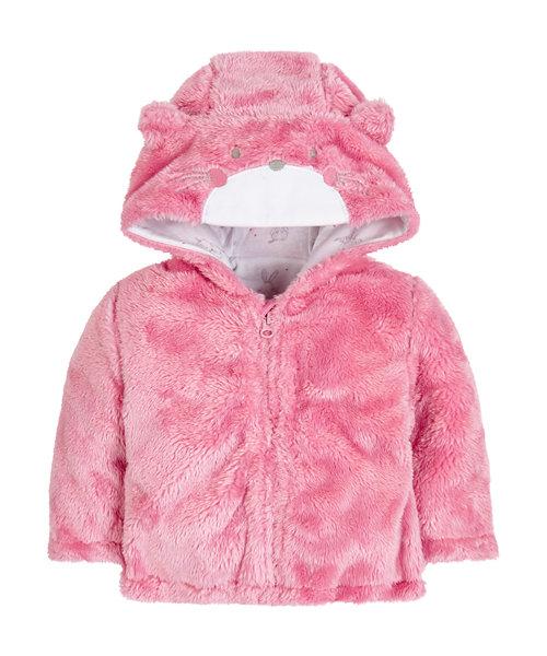 Novelty Bear Fluffy Jacket