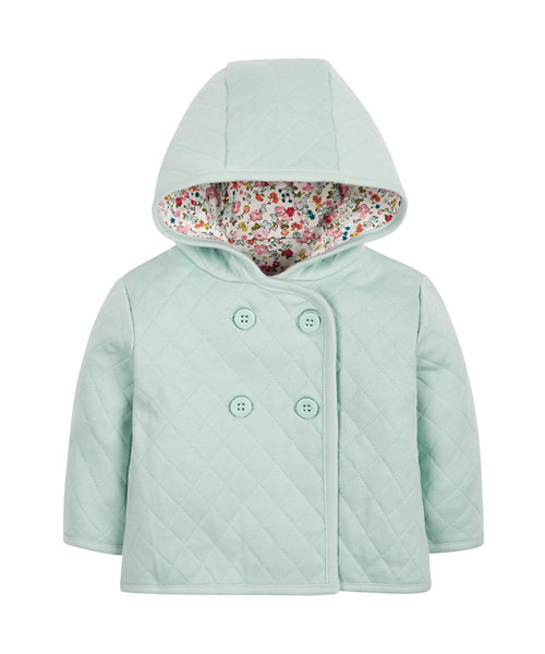 Mint Quilted Jacket