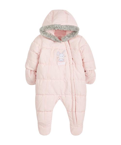 Bunny Snowsuit