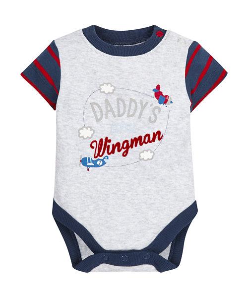 Daddy's Wingman Bodysuit