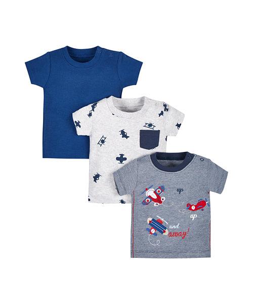 Aeroplane T-Shirts - 3 Pack