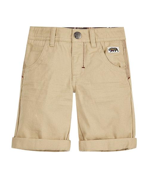Stone Twill Shorts