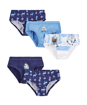 Disney Frozen Briefs - 5 Pack