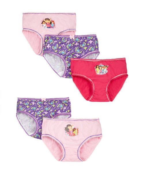 Dora and Friends Briefs - 5 Pack