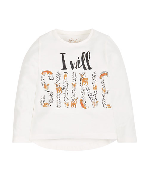 I Will Shine T-Shirt - Mothercare