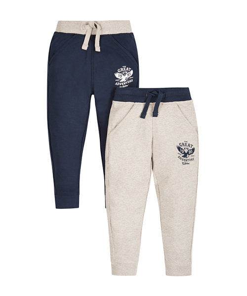 Cuffed Joggers - 2 Pack