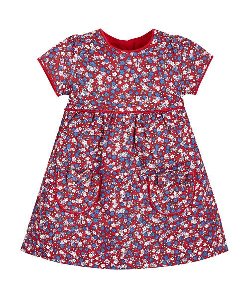 Ditsy Floral Smock Dress