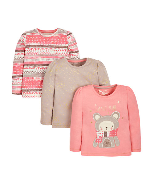 Arctic Bear T-Shirts - 3 Pack