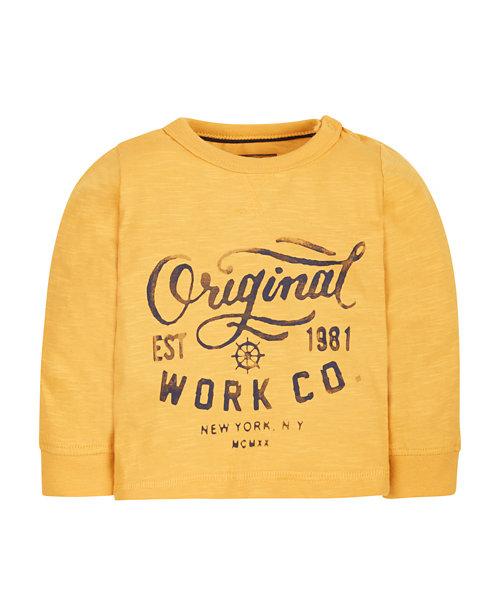 Yellow Original T-Shirt