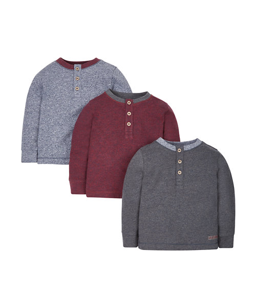 Henley Heritage T-shirts - 3 Pack