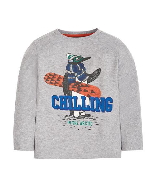 Chilling Penguin T-Shirt