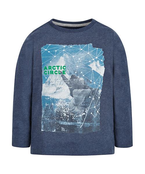 Arctic Circle T-Shirt - Blue