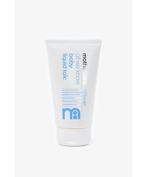 Mothercare All We Know Baby Liquid Talc 125ml