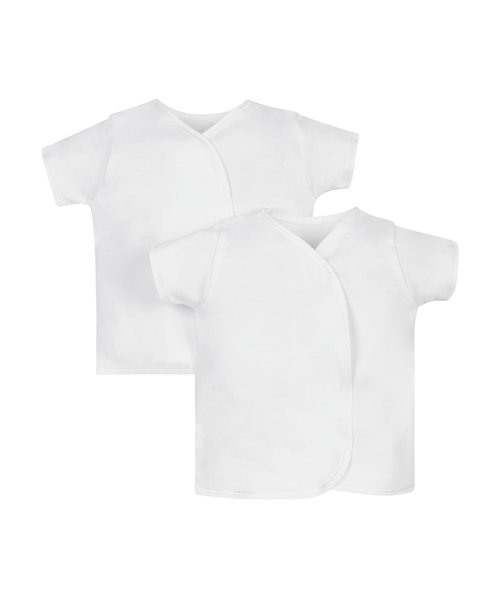 My First Short Sleeve Wrap Vests – 2 Pack