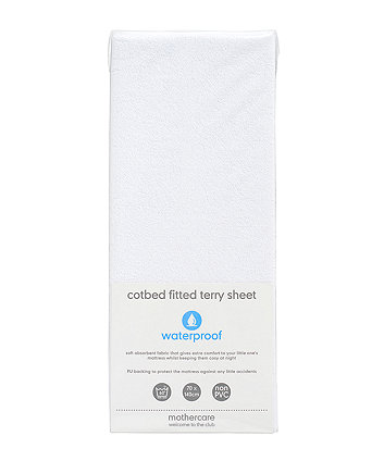 Mothercare Fitted Terry Cot Bed Sheet