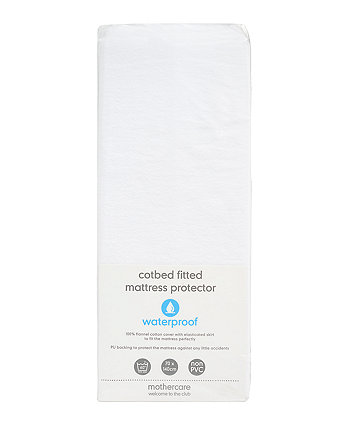 Mothercare Fitted Cot Bed Mattress Protector