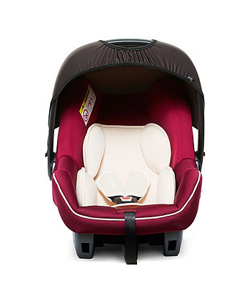 Mothercare Ziba Baby Car Seat - Red 3 Tone